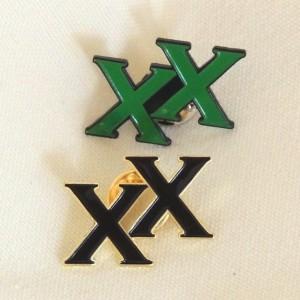 lapel pin xx