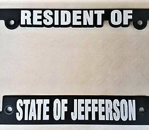 resident state of jefferson license plate frames - Don T Tread On Me License Plate Frame