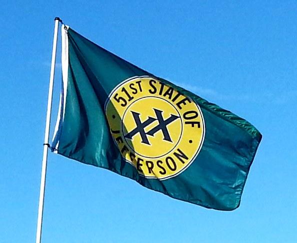 new flag in loleta