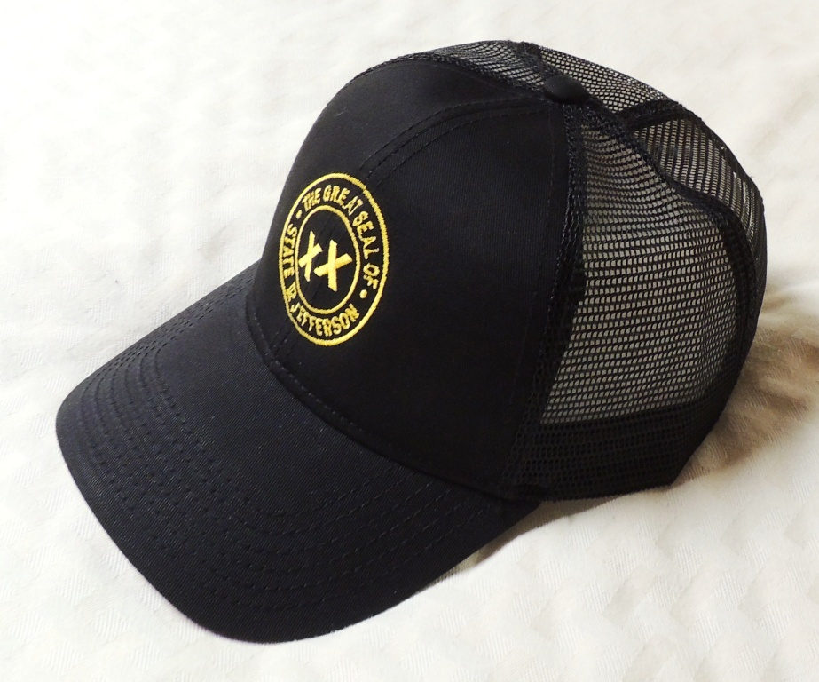 State of Jefferson Seal on Mesh Back Hat ... 7d08270b785